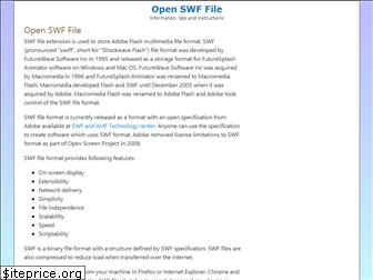openswffile.com