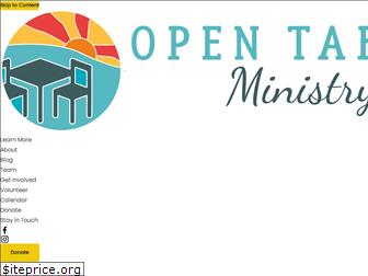 opentableministry.org