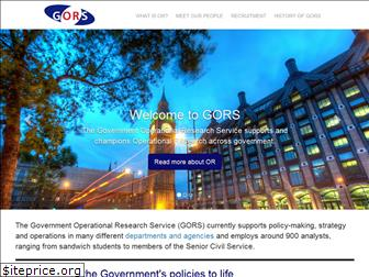 operational-research.gov.uk