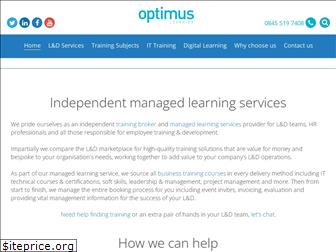 optimuslearningservices.com