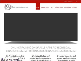 oracleappstechnical.com