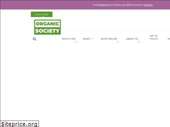 organicsociety.co