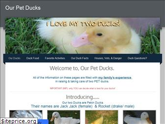 ourpetducks.weebly.com