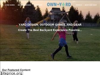 owntheyard.com