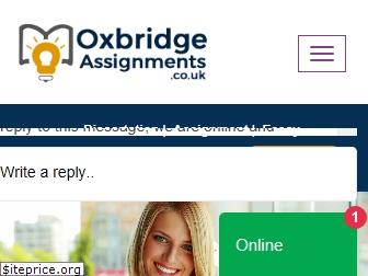 oxbridgeassignments.co.uk