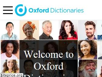 oxforddictionaries.com