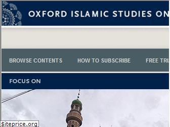 oxfordislamicstudies.com