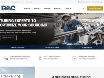 pacstainless.com
