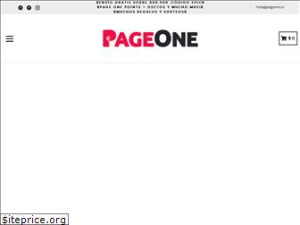 pageone.cl