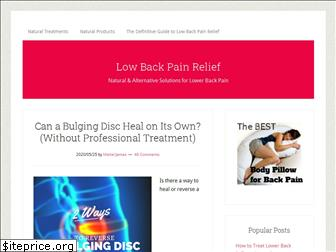 pain-in-lower-back.com