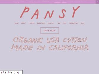 pansy.co