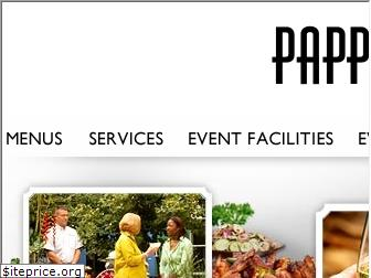 pappascatering.com
