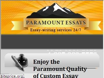 paramountessays.com