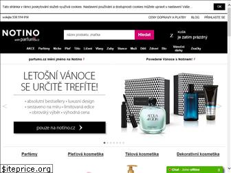 www.parfums.cz website price
