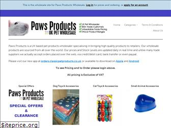 pawsproducts.com