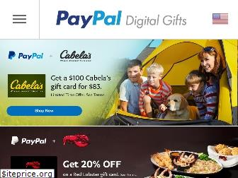 paypal-gifts.com