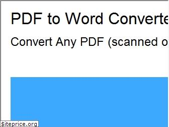 www.pdftowordconverter.org website price