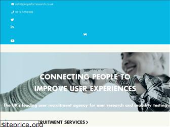 peopleforresearch.co.uk