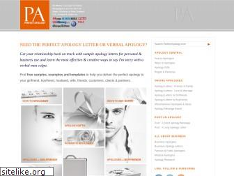 perfectapology.com