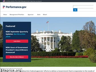 www.performance.gov website price