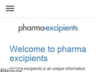 www.pharma-excipients.ch website price