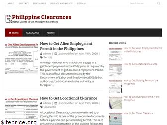 philippineclearances.com