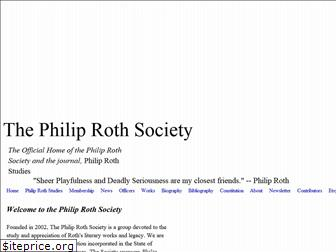 philiprothsociety.org
