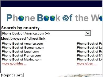phonebookoftheworld.com