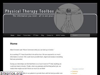physicaltherapytoolbox.com