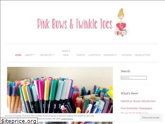 pinkbowstwinkletoes.com