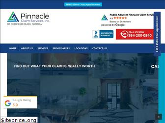 pinnacleclaimservices.com