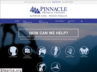 pinnaclephysicaltherapy.net