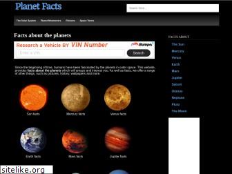 planetfacts.org