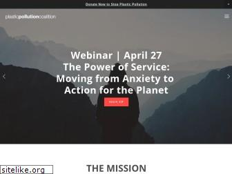 plasticpollutioncoalition.org