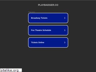 playbadger.co