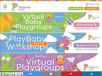 playgroupnsw.org.au