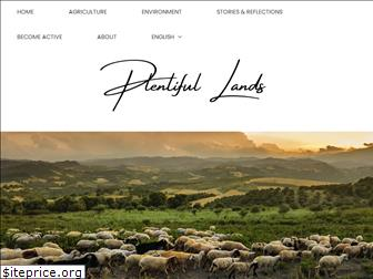 plentiful-lands.com
