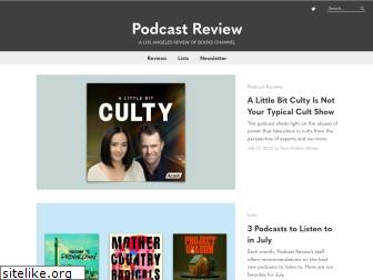 podcastreview.org