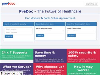 www.predoc.in website price