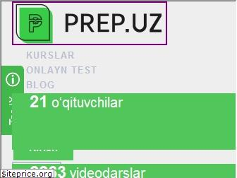 www.prep.uz website price