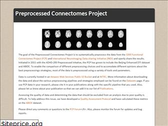 preprocessed-connectomes-project.org