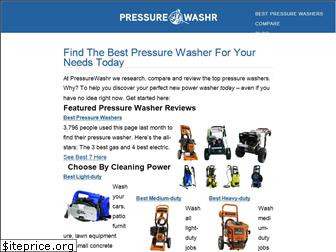 pressurewashr.com