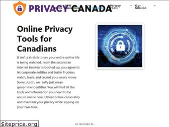 privacycanada.net