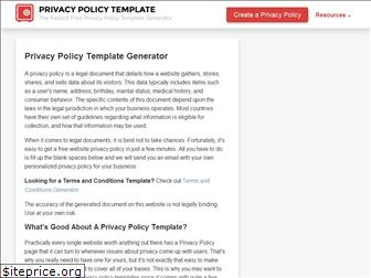 privacypolicytemplate.net