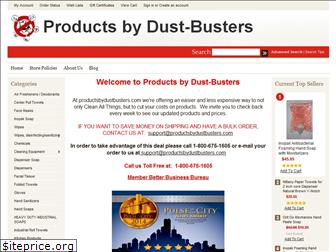 productsbydustbusters.com