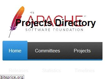 projects.apache.org