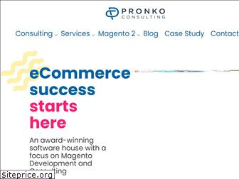 pronkoconsulting.com