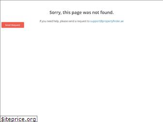 www.propertyfinder.ae website price