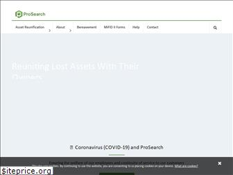 prosearchassets.com