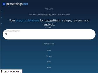 prosettings.net